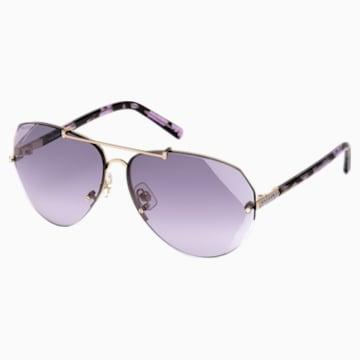 Okulary przeciwsłoneczne Swarovski, SK0134 28Z, fioletowe - Swarovski, 5294038