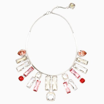 Nile Necklace, palladium plating - Swarovski, 5298627