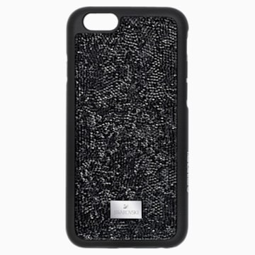 Glam Rock Smartphone Case with Bumper, iPhone® 7, Black - Swarovski, 5300258