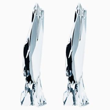 Candelieri Glaciarium, bianco - Swarovski, 5301131