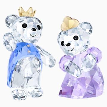 Medvídek Kris – princ a princezna - Swarovski, 5301569