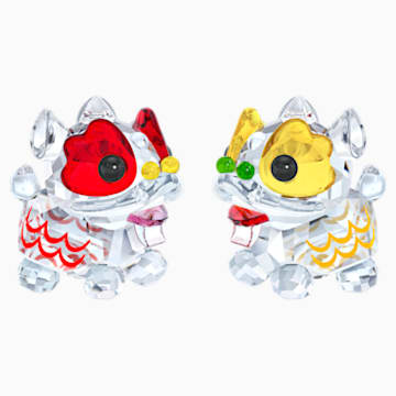 Dansende leeuwen - Swarovski, 5302563