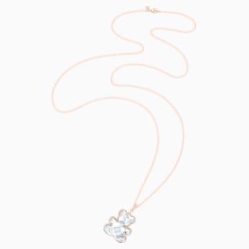 Pendentif Teddy, blanc, Métal doré rose - Swarovski, 5345685