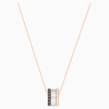 Wisiorek Hint, wielokolorowy, różnobarwne metale - Swarovski, 5353666