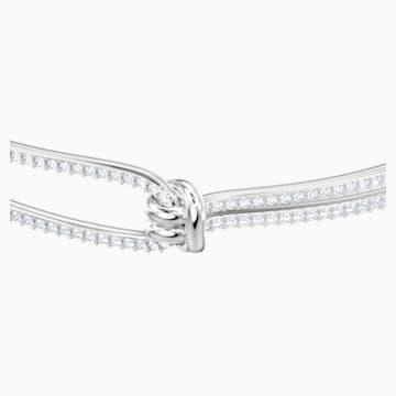 Lifelong 手镯, 白色, 镀铑 - Swarovski, 5368552