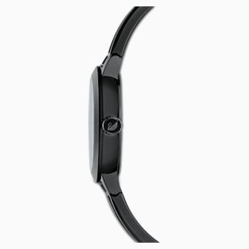 Ρολόι Cosmic Rock, μεταλλικό μπρασελέ, μαύρο, μαύρο PVD - Swarovski, 5376071