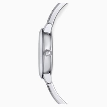 Ceas Cosmic Rock, brățară de metal, alb, oțel inoxidabil - Swarovski, 5376080