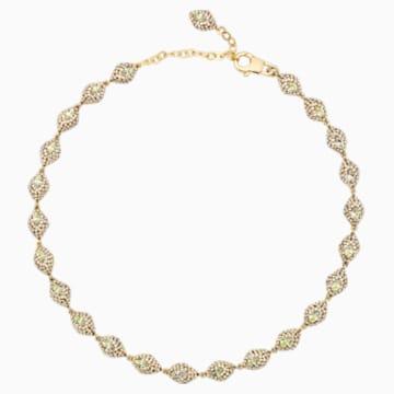 Moselle Mini 頸鍊, 鍍金色色調 - Swarovski, 5377177