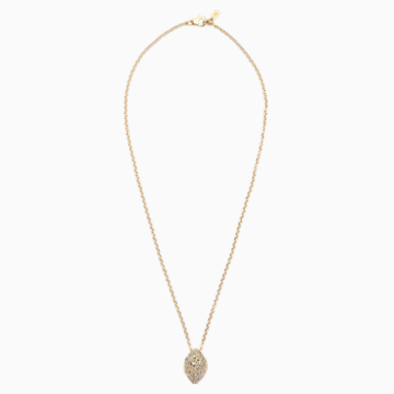 Moselle Pendant, Gold-tone plated - Swarovski, 5377386
