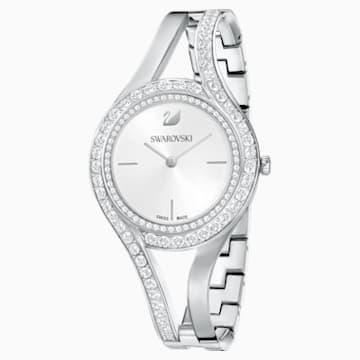 Reloj Eternal, Brazalete de metal, blanco, acero inoxidable - Swarovski, 5377545