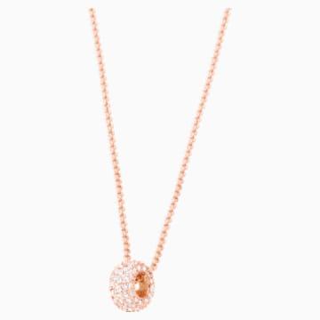 Stone Round Ring, rosa, Rosé vergoldet - Swarovski, 5383957