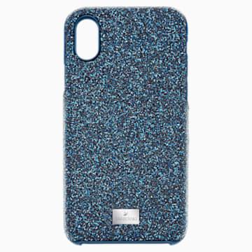 High Smartphone Case with Bumper, iPhone® X/XS, Blue - Swarovski, 5392041