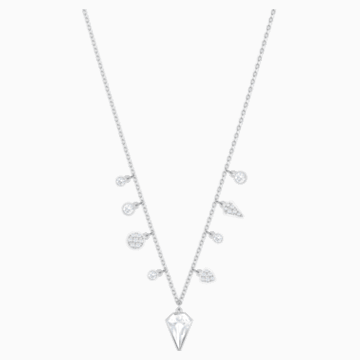 Lucy Kite Choker, White, Rhodium plating - Swarovski, 5392491