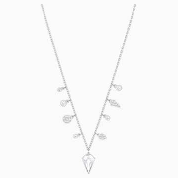 Ras-de-cou Lucy Kite, blanc, métal rhodié - Swarovski, 5392491