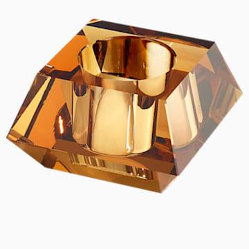 Portavela Lumen Square, tono dorado - Swarovski, 5398637