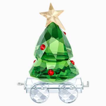 Vagón con árbol de Navidad - Swarovski, 5399977