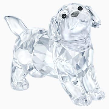 Cățelușul Labrador, așezat - Swarovski, 5400141