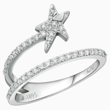 许愿星辰18K金钻石戒指 - Swarovski, 5401316
