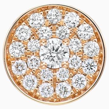 百搭新锐18K玫瑰金钻石链坠 - Swarovski, 5401325