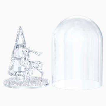 Bell Jar - Pine Tree & Stag - Swarovski, 5403173