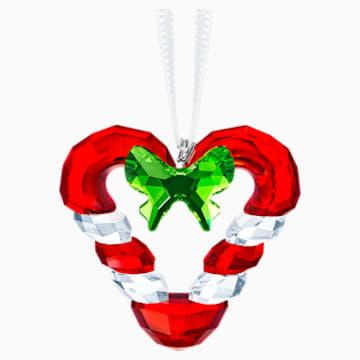 心形拐杖糖掛飾 - Swarovski, 5403314