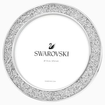 Cadre-photo Minera, rond, ton argenté - Swarovski, 5408239