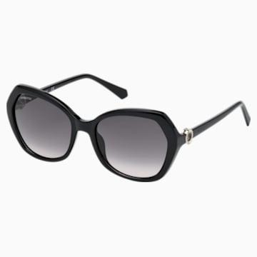 Swarovski Sonnenbrille, SK0165 - 01B, Black - Swarovski, 5411618