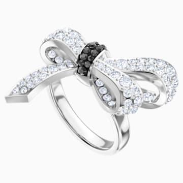 Mademoiselle Ring, Multi-colored, Rhodium plated - Swarovski, 5412678