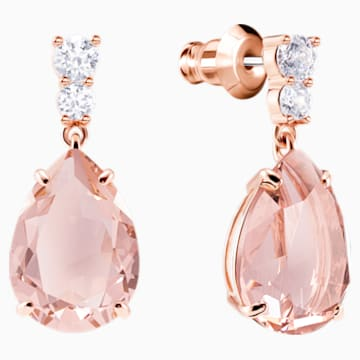 Set Vintage, rosa, Placcato oro rosa - Swarovski, 5414695