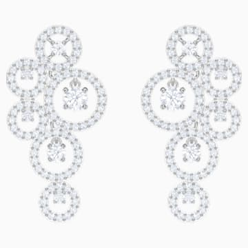 Creativity Ohrringe, weiss, Rhodiniert - Swarovski, 5414713