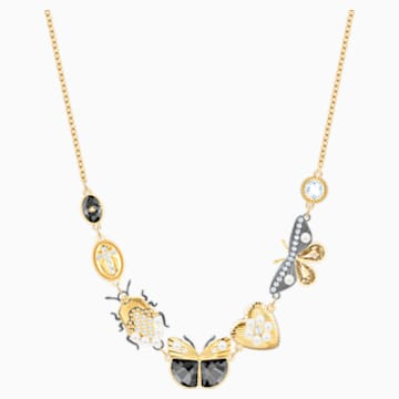 Magnetic Halskette, mehrfarbig, Metallmix - Swarovski, 5416780