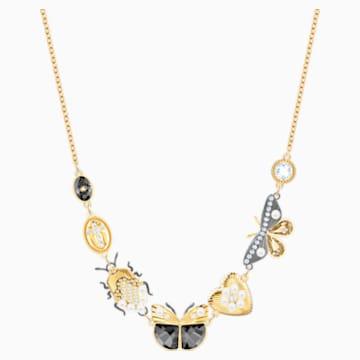 Magnetic Necklace, Multi-coloured, Mixed metal finish - Swarovski, 5416780