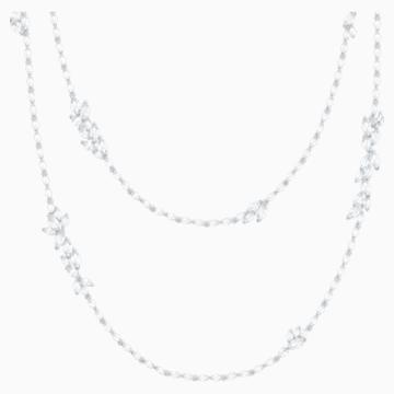 Louison Strandage, White, Rhodium plated - Swarovski, 5418111
