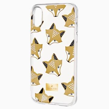 March Fox Smartphone Schutzhülle mit integriertem Stoßschutz, iPhone® X/XS, mehrfarbig - Swarovski, 5418590