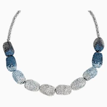 Collier Moselle, bleu - Swarovski, 5420497