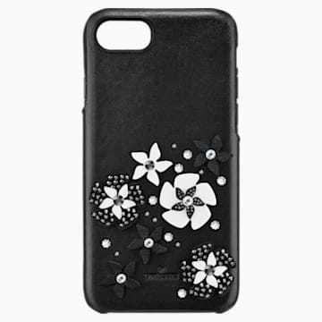 Custodia smartphone con bordi protettivi integrati Mazy, iPhone® 8, nero - Swarovski, 5427019