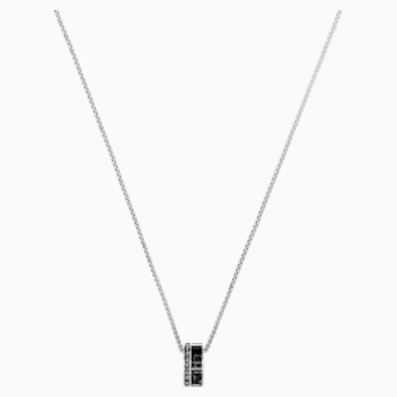 Alto Pendant, Grey, Stainless steel - Swarovski, 5427142