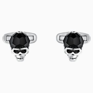 Manžetové knoflíky Taddeo, černé, s palladiovým povrchem - Swarovski, 5427147