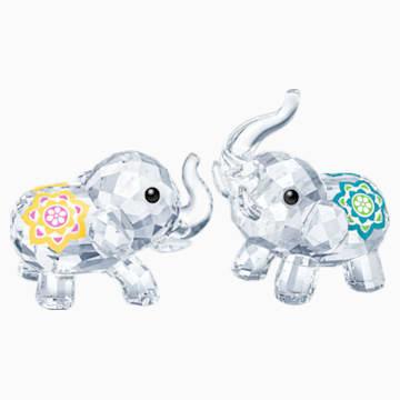 Elefanti portafortuna - Swarovski, 5428004