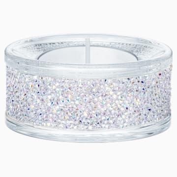 Suport pentru lumânare tip pastilă Shimmer, Cristal AB - Swarovski, 5428722