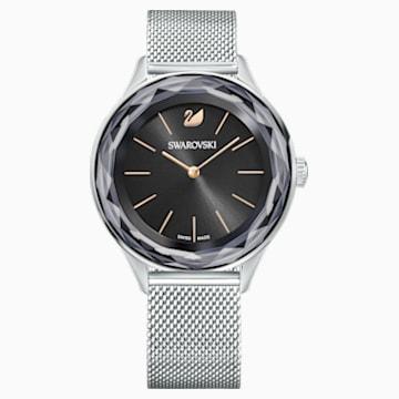 Octea Nova 腕表, Milanese 手链, 黑色, 不锈钢 - Swarovski, 5430420