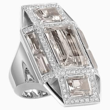 Mosaic Ring, 18K White Gold, Size 52 - Swarovski, 5430494