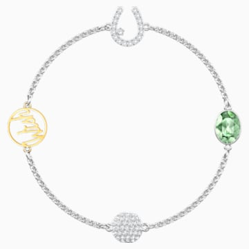 Swarovski Remix Collection Wish Strand, 白色, 多种金属润饰 - Swarovski, 5432672