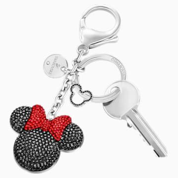 Accessorio per borse Minnie, nero, acciaio inossidabile - Swarovski, 5435479