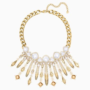 Odysseia Halskette, mehrfarbig, Vergoldet - Swarovski, 5435555