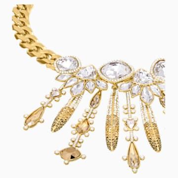 Odysseia Necklace, Multi-coloured, Gold-tone plated - Swarovski, 5435555