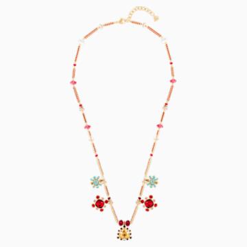 Origins Necklace, Multi-colored, Gold-tone plated - Swarovski, 5435558