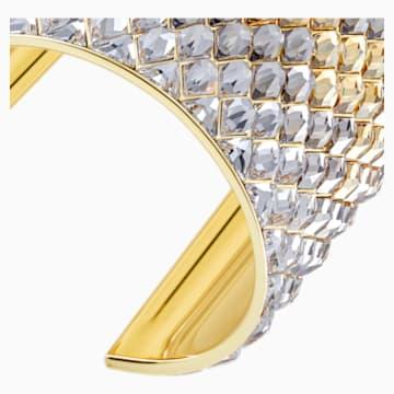 Notorious Cuff, Multi-colored, Gold-tone plated - Swarovski, 5435562