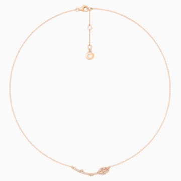 Verdure Bud Frontal Necklace - Swarovski, 5436210