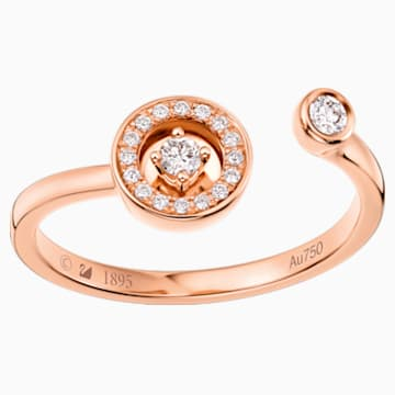 18K RG Dia Petit Chic Dart Ring E - Swarovski, 5436237